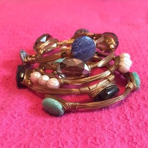 Jewelry - Reece Blaire gemstone bangle bracelets